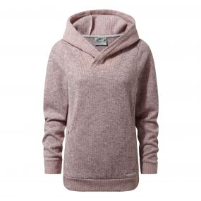 Callins Hooded Top Blossom Pink Marl