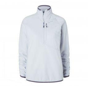 Caitlin Half-Zip Fleece Dove Grey