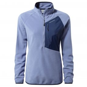 Caitlin Half-Zip Fleece China blue