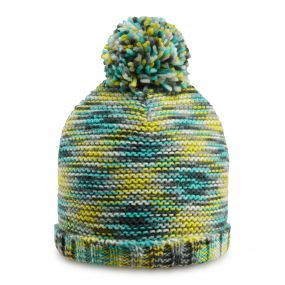 Womens Wensleydale Bobble Hat Charcoal