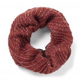 Nora Knit Scarf Redwood Combo