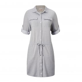 NosiLife Daku Dress Soft Grey Marl