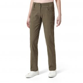 NosiLife Clara Cig Pants Litchen Green