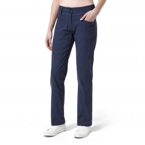 NosiLife Clara Cig Pants Soft Navy