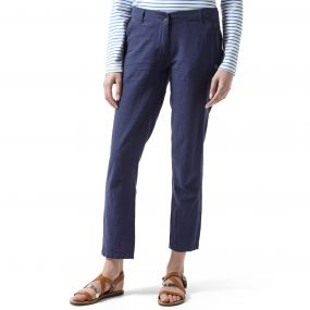 Odette Trousers Soft Navy