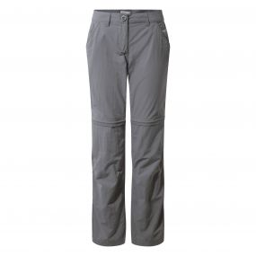 Insect Shield Convertible Pants Platinum