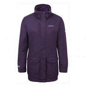 Madigan III 3 in 1 Jacket Dark Plum