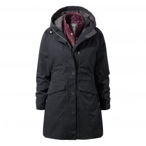 365 3in1 Jacket Black / Winterberry