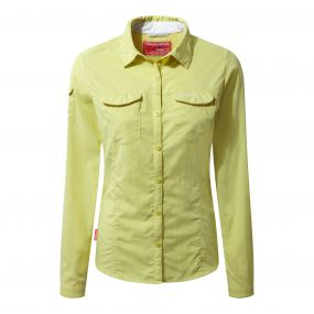 NosiLife Adventure Long-Sleeved Shirt Limeade