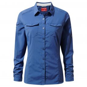 NosiLife Adventure Long-Sleeved Shirt Soft Denim