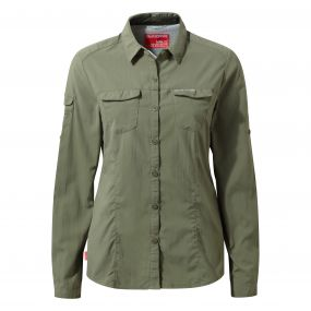 NosiLife Adventure Long-Sleeved Shirt Soft Moss