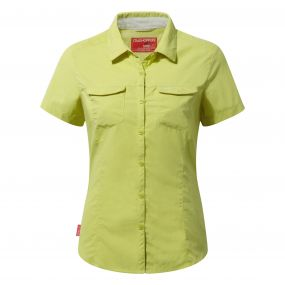 NosiLife Adventure Short-Sleeved Shirt Limeade