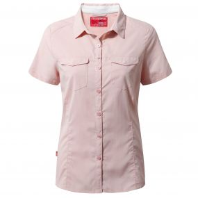 NosiLife Adventure Short-Sleeved Shirt Blossom Pink