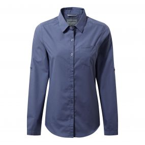 Kiwi Long-Sleeved Shirt China blue