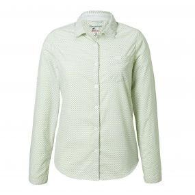 Insect Shield Adoni Long-Sleeved Shirt Bush Green