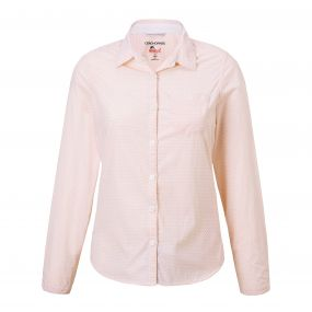 Insect Shield Adoni Long-Sleeved Shirt Blossom Pink