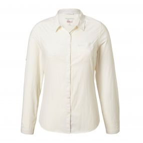 Insect Shield Bardo Long-Sleeved Shirt Sea Salt
