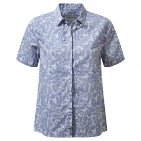 Silla Short-Sleeved Shirt China Blue