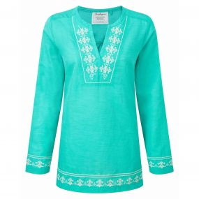 Clemence Long-Sleeved Top Spearmint