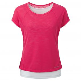 Pro Lite 3 in 1 T-Shirt Electric Pink Dove