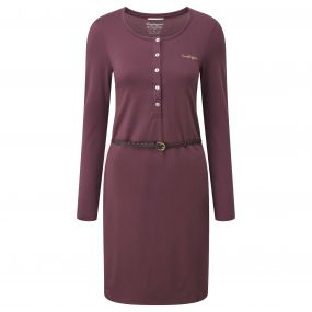 Fairview Dress Dark Rioja Red