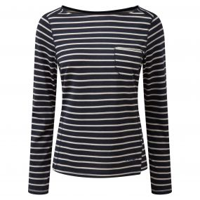 Fairview Long-Sleeved Top Soft Navy Combo
