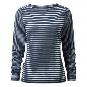 NosiLife Erin Long Sleeved Top Night Blue Combo