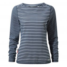 NosiLife Erin Long-Sleeved Top Night Blue Combo