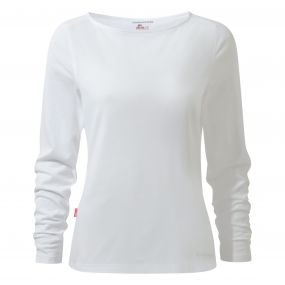 NosiLife Erin Long Sleeved Top Optic White