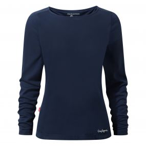 NosiLife Erin Long Sleeved Top Night Blue