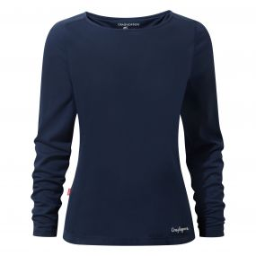 NosiLife Erin Long-Sleeved Top Night Blue