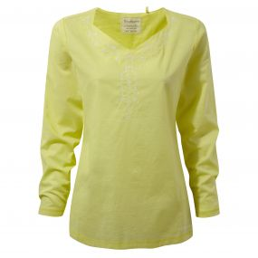 Rayna Long-Sleeved Top Limeade