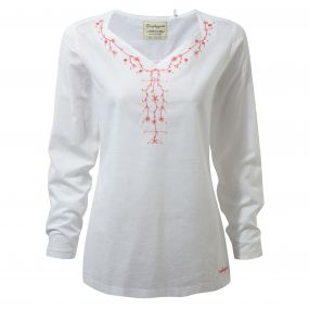 Rayna Long-Sleeved Top Optic White