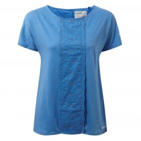 Connie Short-Sleeved Top Bluebell