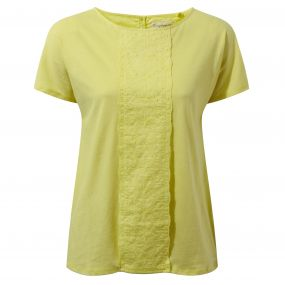 Connie Short-Sleeved Top Limeade