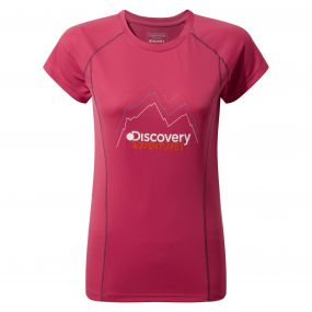 Discovery Adventures Short-Sleeved Tee Electric Pink