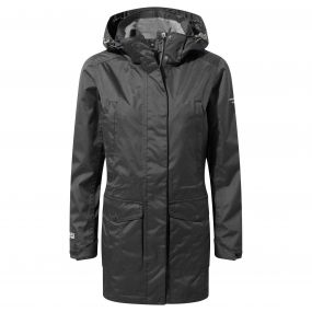 Womens Expert Madigan Long Jacket Black