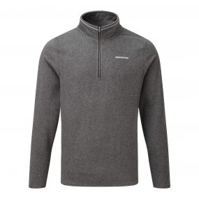 Corey III Half Zip Black Pepper Marl