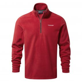 Corey III Half Zip Maple Red