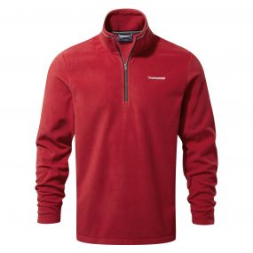 Corey III Half-Zip Fleece Maple Red