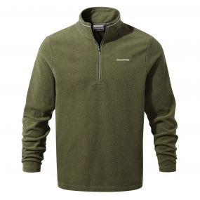 Corey III Half-Zip Fleece Dark Moss Marl