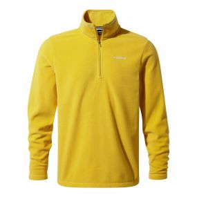Corey III Half-Zip Fleece Desert Yellow