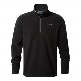 Corey III Half-Zip Fleece Black
