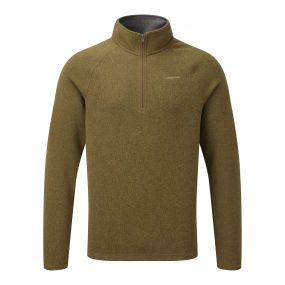 Walton Half-Zip Dirty Olive