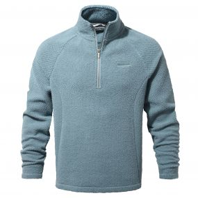 Barston Half Zip Smoke blue