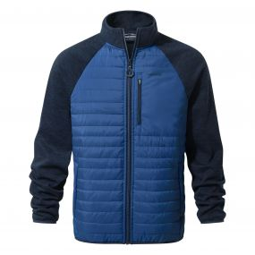 Monto Hybrid Jacket Deep Blue
