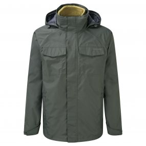 Wheeler 3 in 1 Jacket Khaki Light Olive