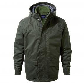 Thurston 3in1 Jacket Dark Khaki
