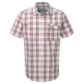 Spencer Short-Sleeved Shirt Rust Combo