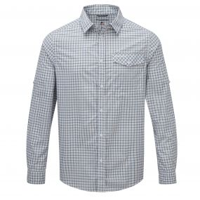 Nosi Check Shirt Pool Blue Combo